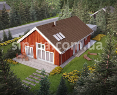 Проект дома по СИП-технологии